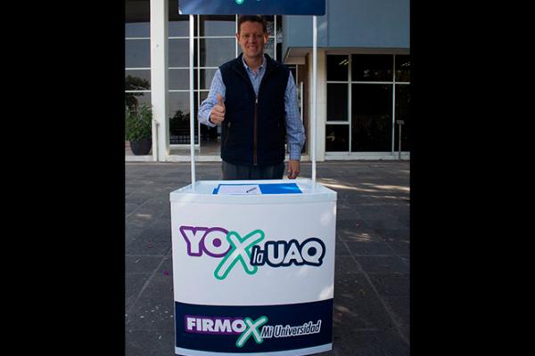 "Mauricio Ortiz se une a ""Yo por la UAQ"""