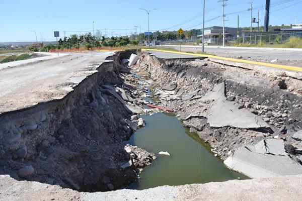 Obras del socavón no son municipales