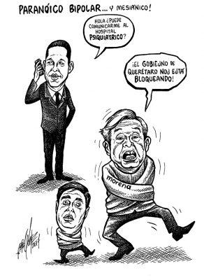 PARANÓICO BIPOLAR… Y MESIÁNICO!