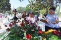CIENTOS de personas acudieron al panteón de Santa Bárbara a recordar a quienes se han adelantado en el camino. Foto: Yolanda Longino