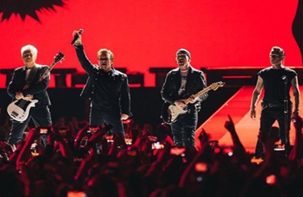 U2 recibirá el Premio Icono Global en los MTV EMA