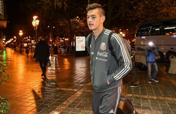 Llega la Selección Mexicana a Bélgica