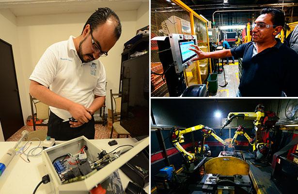 Industria 4.0; Queretanos desarrollan tecnología