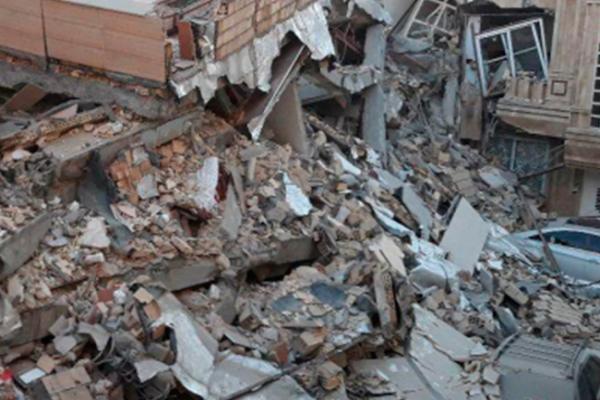 500 heridos y ocho muertos por terremoto en Irak