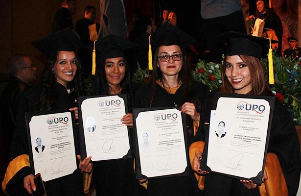 Crecen 300% las titulaciones de la Universidad Politécnica
