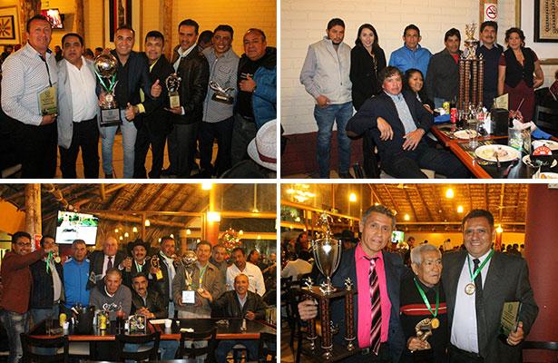Premian a campeones de la Liga Premier Master Querétaro de Futbol