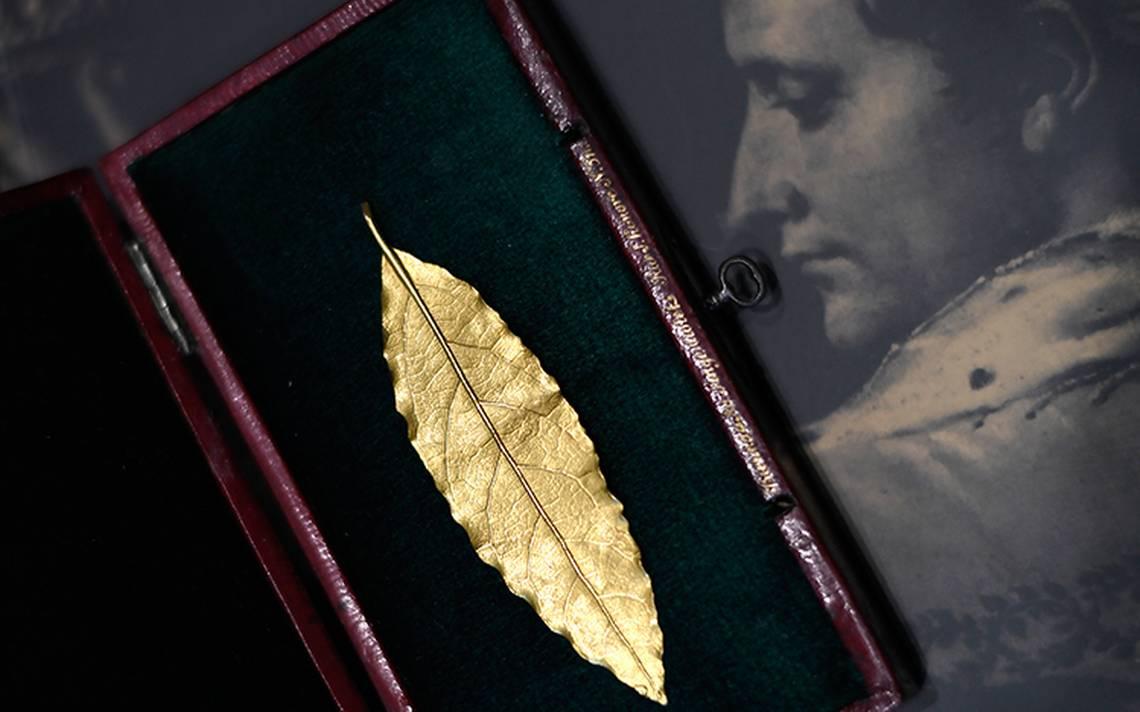 Subastan una hoja de oro de la corona de Napoleón ¡por 625 mil euros!