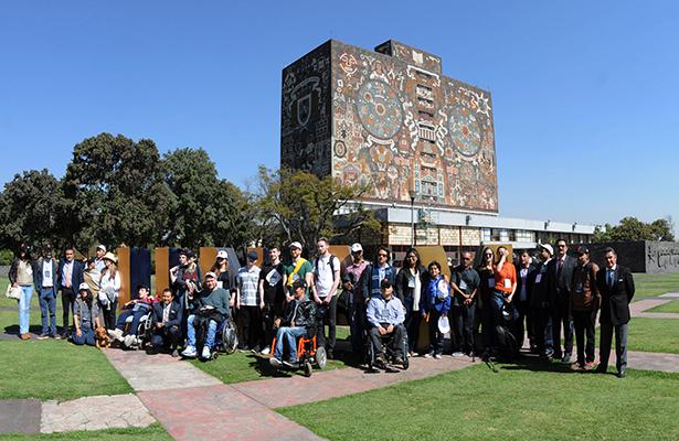 Dialogues on Disability busca la inclusión de estudiantes con discapacidad en la UNAM