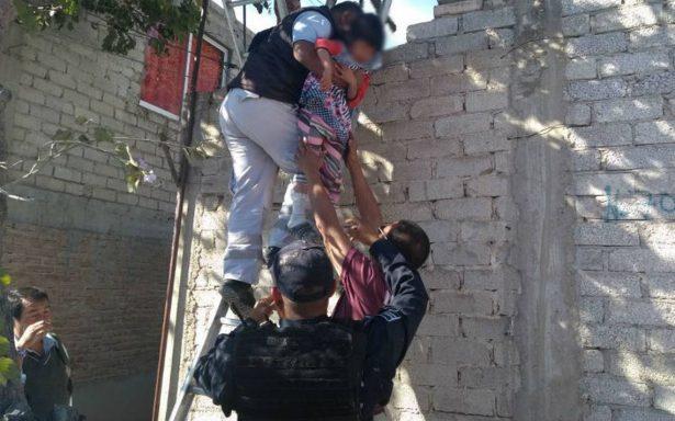 Rescatan a cinco menores abandonados en Tehuacán