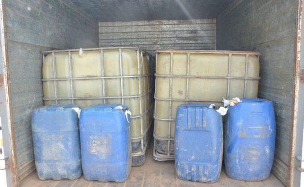Aseguran más de 6 mil litros de combustible en Puebla, León y Querétaro