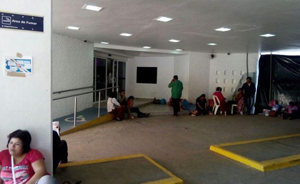 Paran labores en hospitales de Tabasco