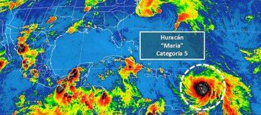 Reportan en Martinica dos heridos y daños materiales por huracán María