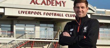 Steven Gerrard regresa al Liverpool… como entrenador