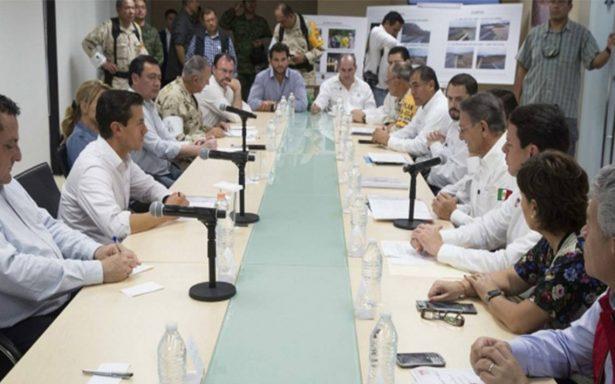 Peña Nieto estima tres semanas para restaurar servicios en BCS tras paso de Lidia
