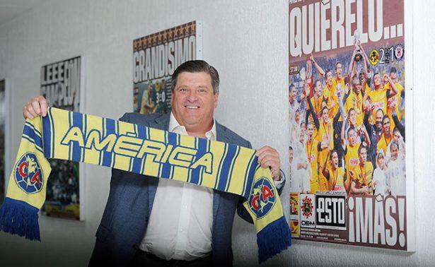"""""""Piojo"""" Herrera sabe lo que le urge al América: el título"""