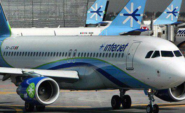 Reanuda la aerolínea Interjet operaciones de seis aviones Superjet100