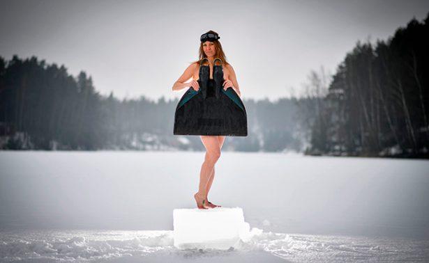 Johanna Nordblad, lasirenadel hielo