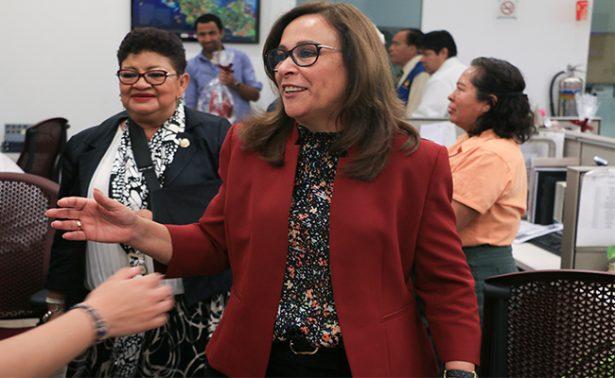 Diputados del PRD buscan unirse a Morena, afirma Rocío Nahle sin dar nombres