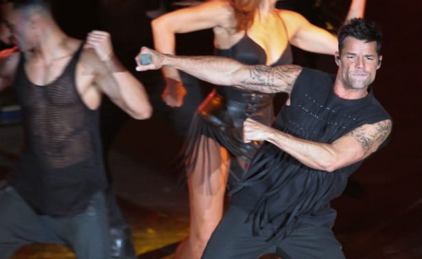 Ricky Martin enciende al Auditorio con sus éxitos