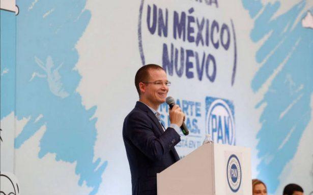 En franco estado de guerra rumbo a 2018: Ricardo Anaya