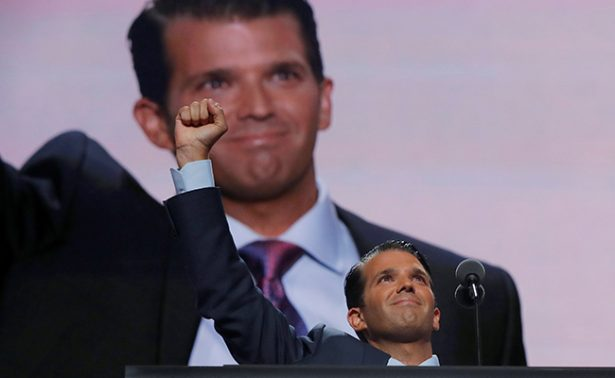 Trump Jr. le echa más sal a la herida: tuitea video contra CNN