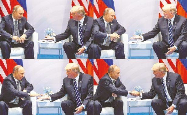 """En duda, la  """"química""""  entre Putin  y Trump"""