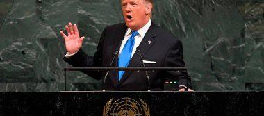 Acabaremos con Corea del Norte si no cede, afirma Trump en la ONU