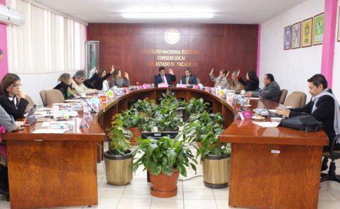 INE designa consejos electorales en Zacatecas
