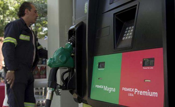 Gasolina Magna se vende hasta en 16.45 pesos este lunes