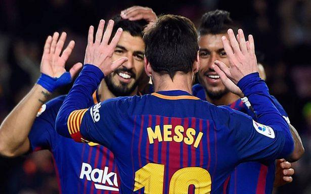 Messi y Suárez regalan otro triunfo al Barcelona que ya espera a Coutinho