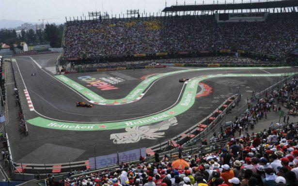 Revelan colorido cartel del Gran Premio de México
