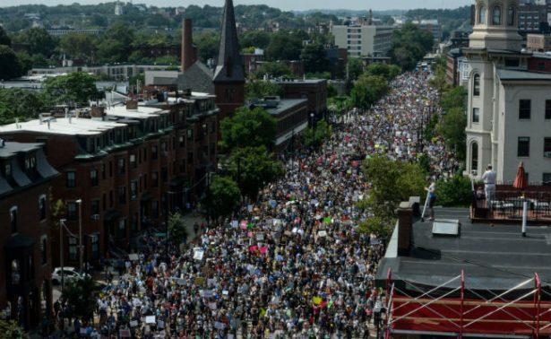 Altercados en Boston tras manifestación antirracista dejan 8 detenidos