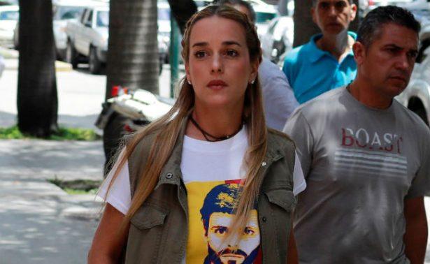 Lilian Tintori afirma no hubo negociación en traslado de Leopoldo López