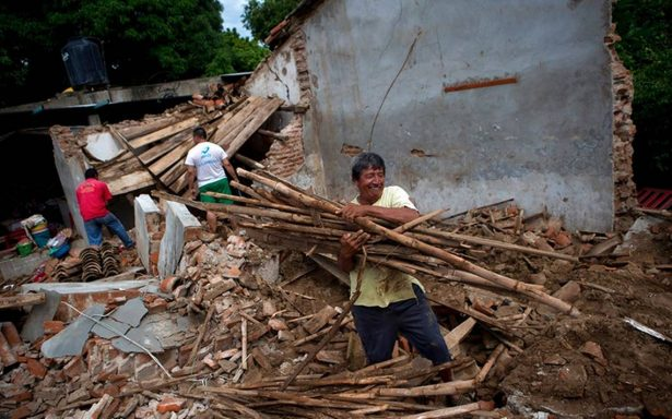 Reconstrucción de Oaxaca en pausa