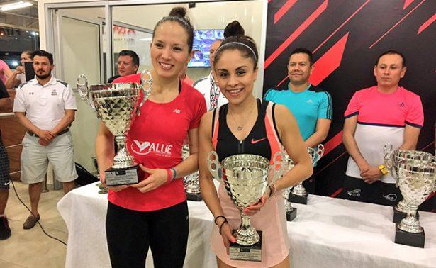 Paola Longoria y Samantha Salas, se coronan en dobles en campeonato de raquetbol