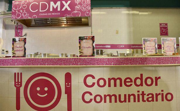 Prepas del gobierno de la CDMX tendrán comedores comunitarios