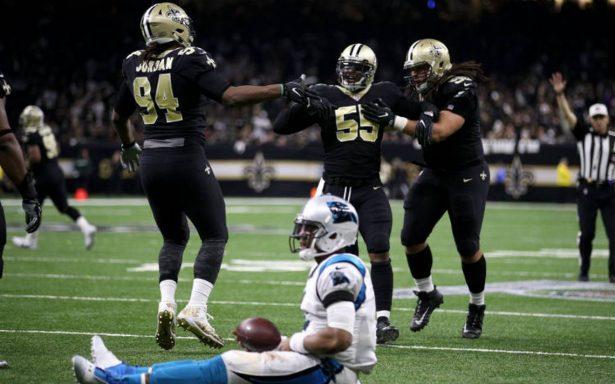 Brees y los Saints van a la fase de división tras vencer a Carolina
