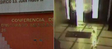 Aparecen supuestos autores de ataque a Episcopado Mexicano