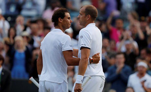 Tras casi cinco horas de lucha, Muller derrota a Nadal en Wimbledon