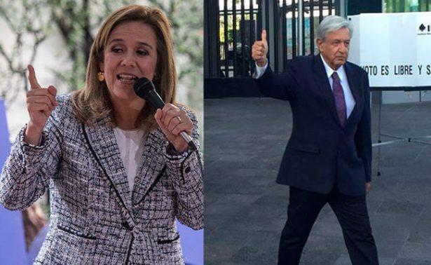 Rumbo a 2018, empate técnico entre Margarita Zavala y AMLO, según encuesta