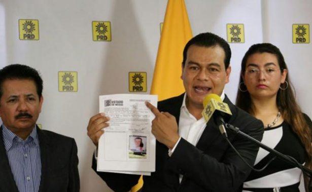 PRD designa a Juan Zepeda como candidato al Estado de México