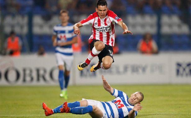 PSV y el 'Chucky' Lozano quedan eliminados de la Europa League