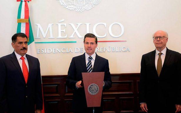 Peña Nieto designa a Florentino Castro como nuevo director del ISSSTE