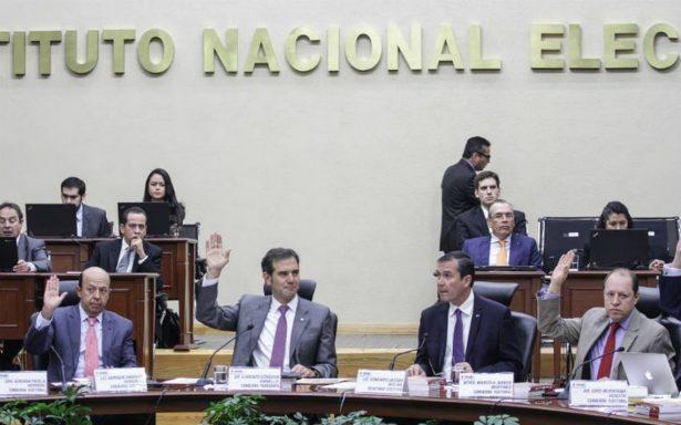 INE y partidos recibirían 25 mil mdp para elecciones del 2018
