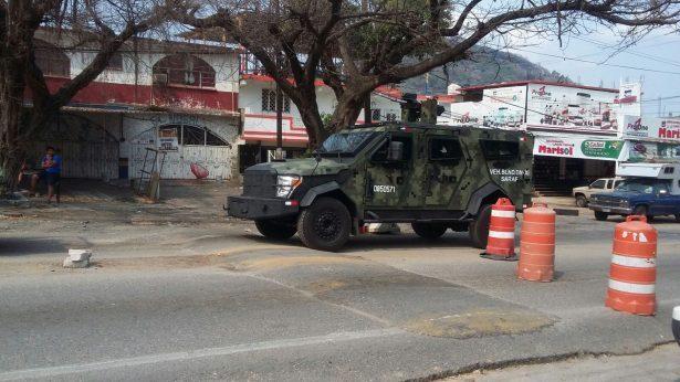 Ejército desarma a Policía Municipal de Zihuatanejo