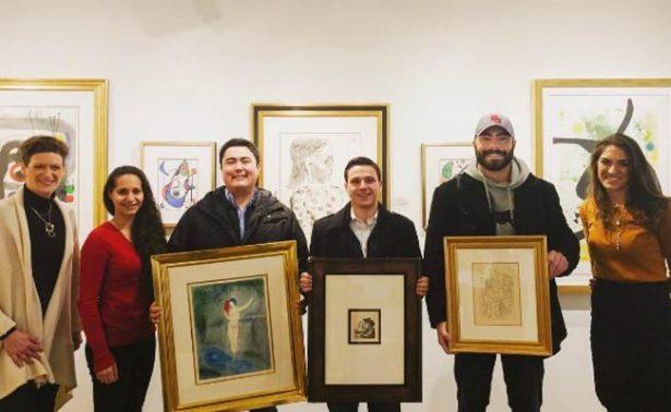Estudiantes frustran robo de obras de Picasso y Rembrandt