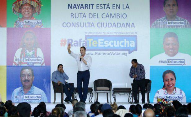 Moreno Valle propone quitar pensión a ex presidentes y revisar salarios de servidores