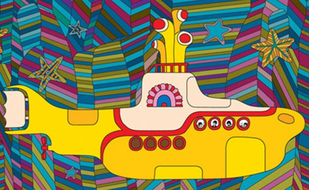 "Filme de The Beatles ""Yellow Submarine"" será convertido en cómic"
