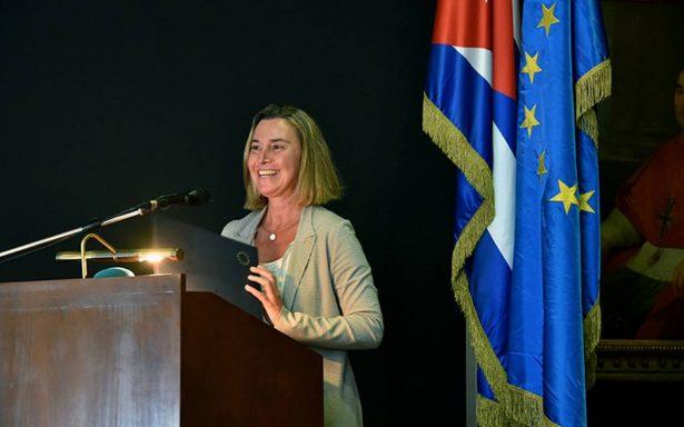 Cuba no está sola ante quienes levantan muros y cierran puertas: UE
