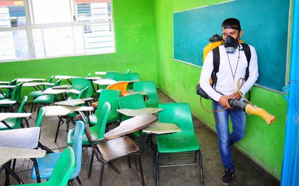 Combaten criaderos de mosco en Chiapas